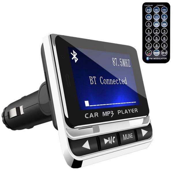 MP3 WMA WIRELESS FM Modulator LCD Display with remote Control