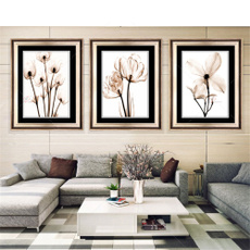 decoration, canvasprint, Flowers, art