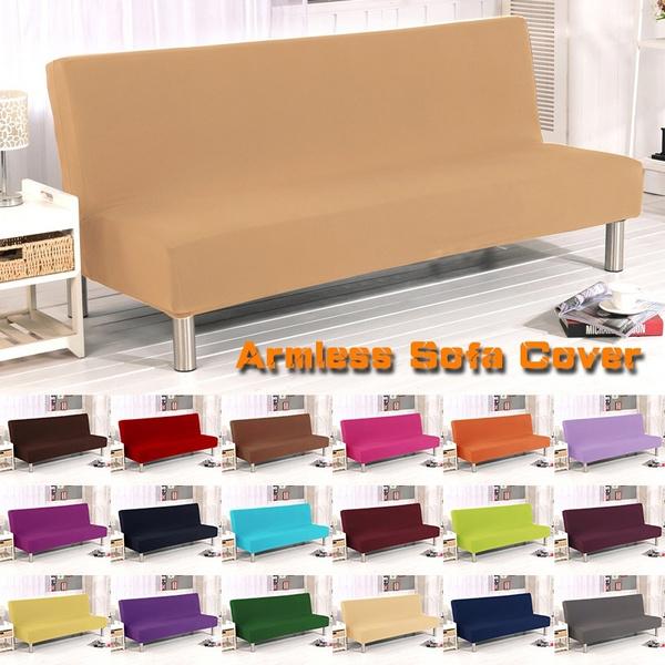 Armless Sofa Cover Fashion Protector