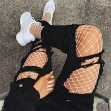 sexypantyhose, elastic waist, Fish Net, Tights & Leggings