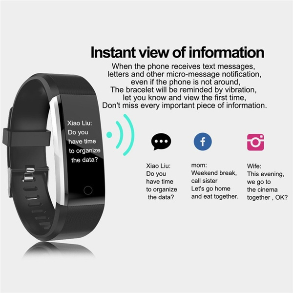 heartratemonitor, pedometerwatch, Waterproof Watch, Jewelry