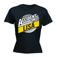 In Case Of Accident Or Drunkenness My Name Is Lisa HOODIE hoody funny birthday