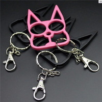 Unisex Cat Self Defense Keychain Multifunctional Portable Self