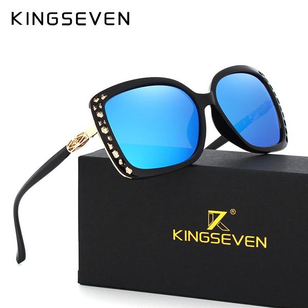 Kingseven 2019 Retro Sunglasses For Men Natural Wooden Eyewear Polarized Women Brand Glasses Uv400 Oculos Y5790