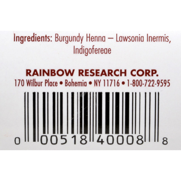 291cd881741cd Wish | Rainbow Research Henna Hair Color and Conditioner Persian ...