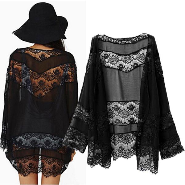 blouse, cardigan, Lace, coatsampjacket