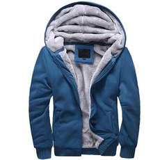 Thicken, hooded, Winter, winter coat