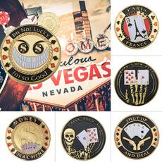 coinscollection, Poker, goldplatedcoin, casinocoin