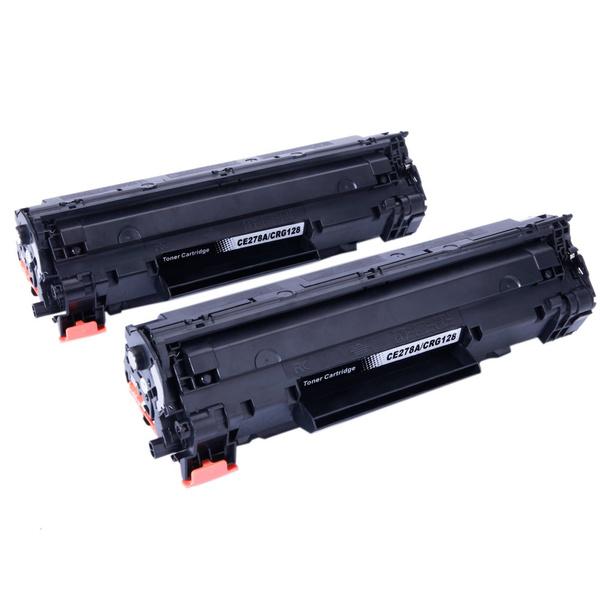 2PK CRG128 Toner Cartridge Compatible for Canon imageCLASS D530 MF4770n MF4880dw