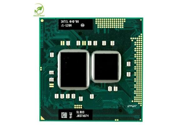 Intel Core i5 Mobile i5-520M 2.4 GHz Socket G1 CPU Processor SLBNB