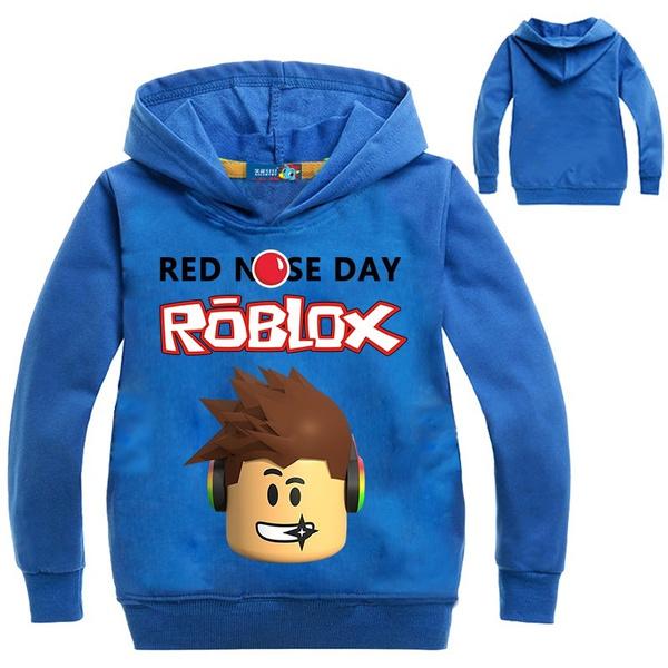 Tshirt Roblox Boys Clothes Children Tee Shirt Enfant Garcon Long