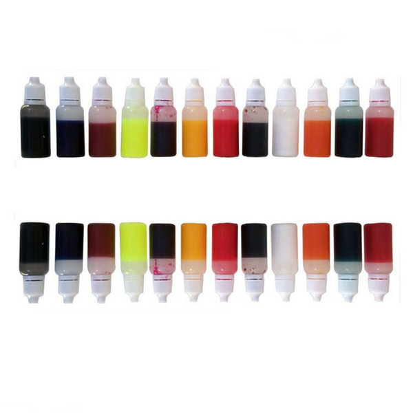 Geek | 15Pcs 15ml Mix Color Epoxy UV Resin Coloring Dye Colorant ...