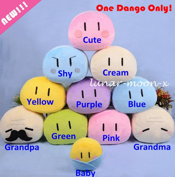 New Clannad Dango Family Plush Doll Toys Cushion Pillow Wish