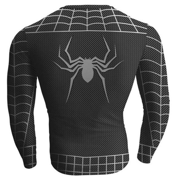 Wish Men Compression Marvel Superhero 3d T Shirt Sport Bike