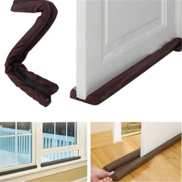 NEW TWIN DRAFT GUARD DRAUGHT EXCLUDER STOPPER ENERGY SAVING WINDOW INSULATOR