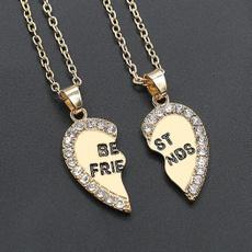 Heart, friendshipnecklace, Jewelry, unisex