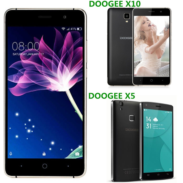 DOOGEE X5 MAX Pro Android 6 0 4G Smartphone 5 0 inch MTK6737 Quad Core 2GB  RAM 16GB ROM Bluetooth 4 0 4000mAh Battery Fingerprint Sensor Cameras