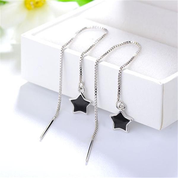 Tassels, Star, Jewelry, Stud Earring