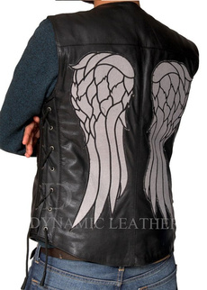 Vest, Fashion, motorcyclevest, leather