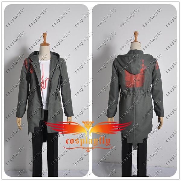 Super Danganronpa 2 Komaeda Nagito Hoody Jacket Only Cosplay Costume In Stock