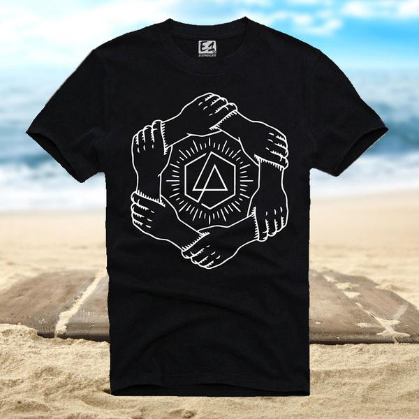 Men S T Shirt Linkin Park One More Light Art Chester Bennington Black
