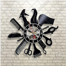 12vinylrecordwallclock, Decor, art, Home Decor