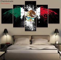 Pictures, mexicoflageagle, Wall Art, Home Decor