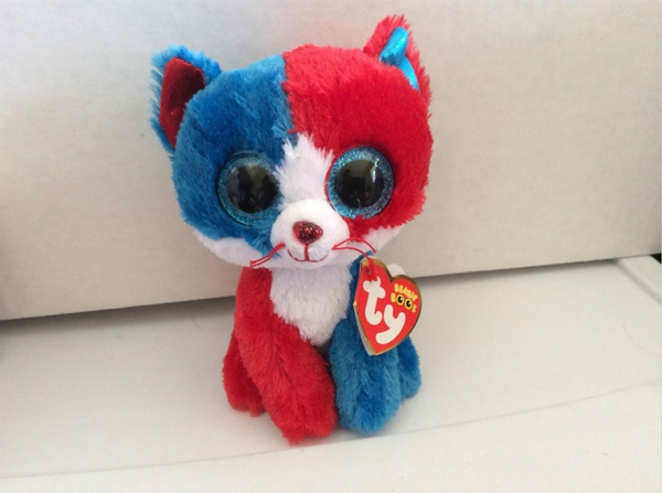 a533f971110 Ty Beanie Boo FIRECRACKER the 4th of July Cat 6