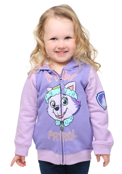 PAW PATROL EVEREST SWEATER HOODIE SIZE 2T 3T 4T 5T NEW!