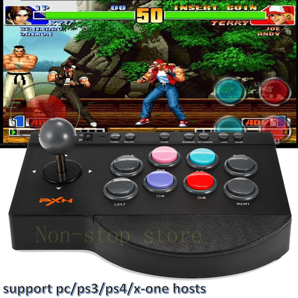 PXN - 0082 Arcade Joystick Video Computer Game Controller PS3 PS4 Xbox  Professional Game Equipment