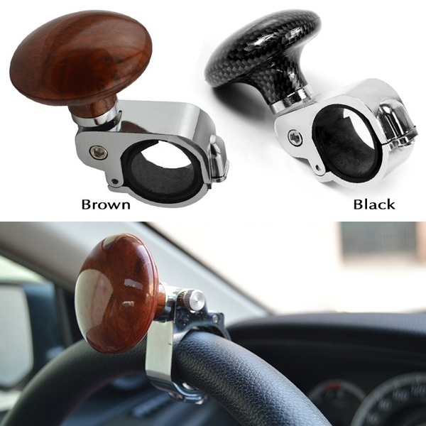 Car Suicide Knob Ball Aid Grip Spinner Hand Control Steering Wheel