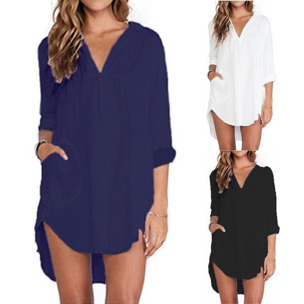 blouse, Loose, Shirt, Sleeve