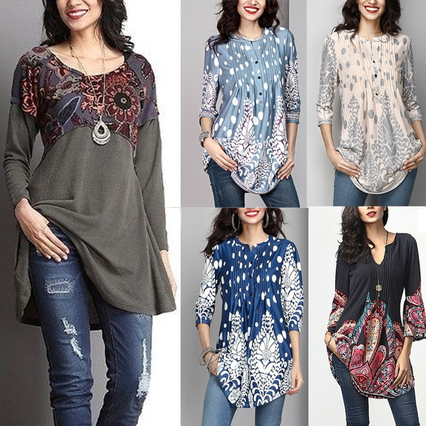 Women, Fashion, Floral print, Sleeve