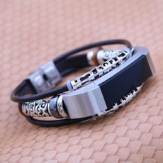 braceletforfitbitalta, Wristbands, leather, Bracelet