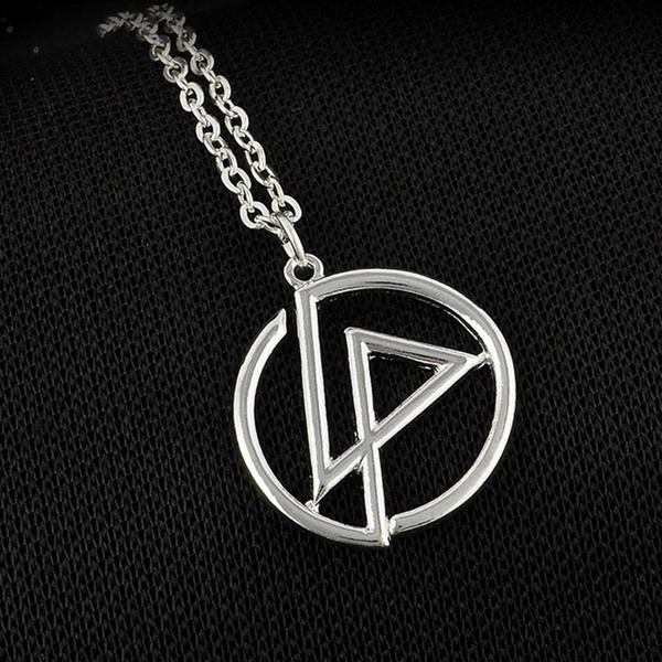 Memorial Classic Cool Linkin Park Band Logo Charm Choker Pendant Necklace Women Men Jewelry