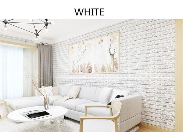 Wish | 1Pcs 3D Wallpaper DIY Wall Stickers PE Foam Wall Decor ...