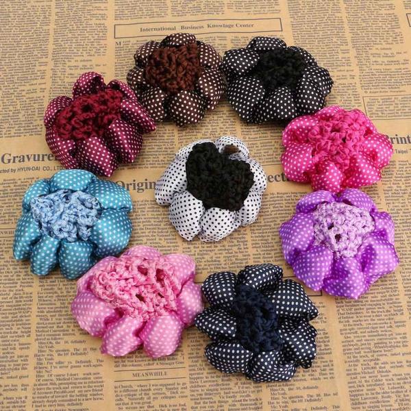 Wish New Women Accessories Bun Cover Snood Hair Net Crochet Ballet
