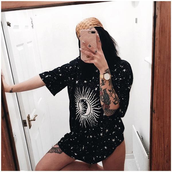 Mini, Goth, Fashion, pleated dress
