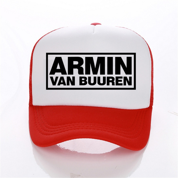 Armin Van Buuren Caps Sports Trucker Caps Pattern Strapback Hat for Men//Women