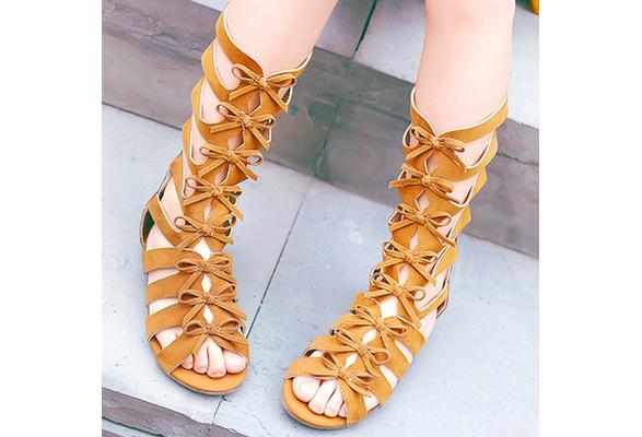 Shoes Roman Gladiator Sandals Kids Summer High Toddler Girls Top Kc1J3FTl