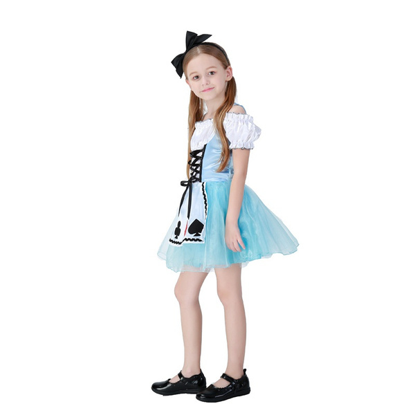 Wish | Halloween Girls Princess Dress Alice In Wonderland Dream ...