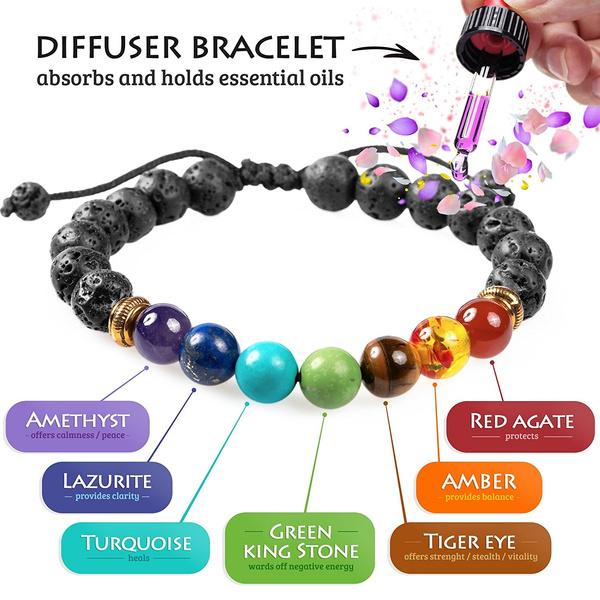 Charm Bracelet, healingbracelet, meditationbracelet, yogabracelet