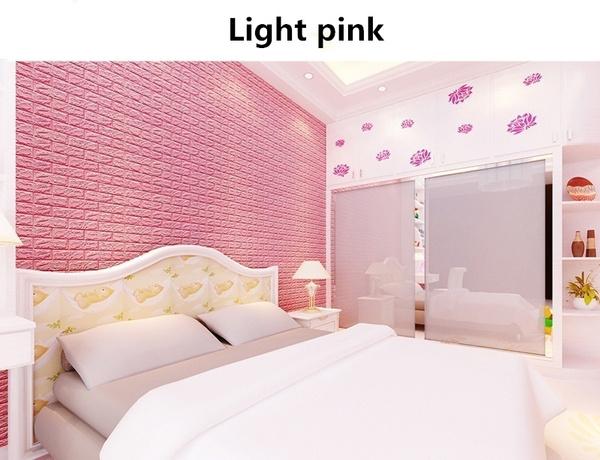 Wish | Trendy Household Creative 3D Wallpaper PE Foam DIY Wall ...
