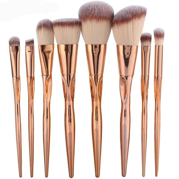 Makeup Tools, Cosmetic Brush, Beauty, Metal