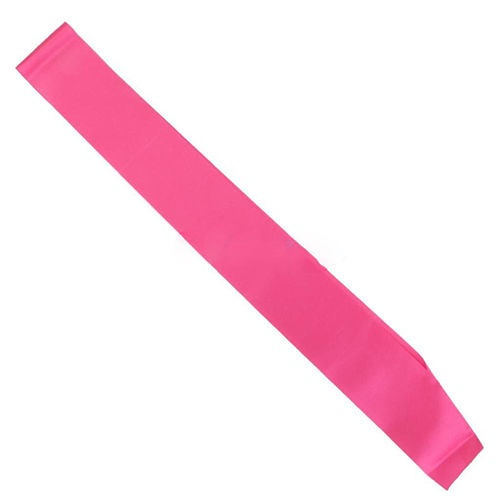 Wish Make Your Own Blank Sash Plain Satin Ribbon For Birthday