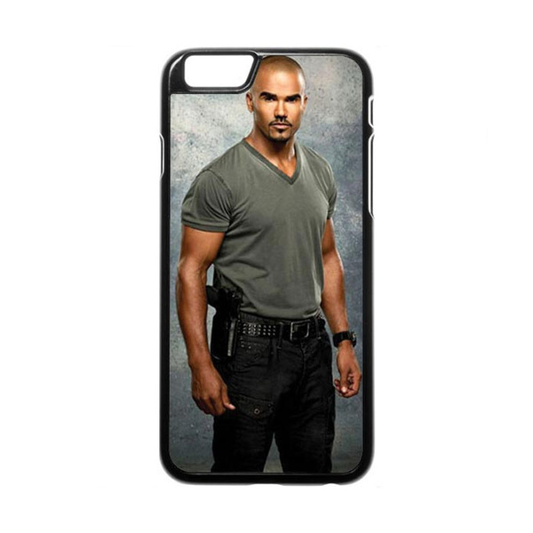 premium selection 8307d fe024 Shemar Moore with gun iPhone 6 Case Graphic Phone Case for iphone and  Samsung Galaxy