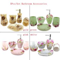 Baño, Flowers, bathroomdecor, bathroomtoiletrie