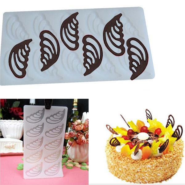 Silicone, Baking, Angel, chocolatemold