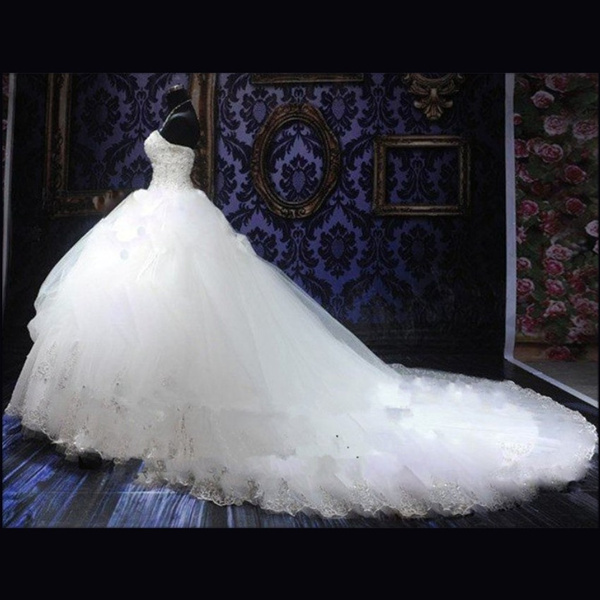 Wish   2018 Luxury Wedding Dresses Ball Gown 2017 Beaded Bridal Gown ...