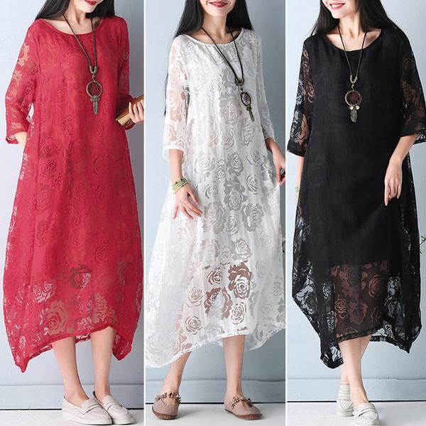 Summer, Fashion, Cotton, Lace